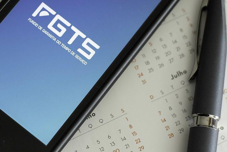 Saques anuais (aniversário) limites de retirada do FGTS.